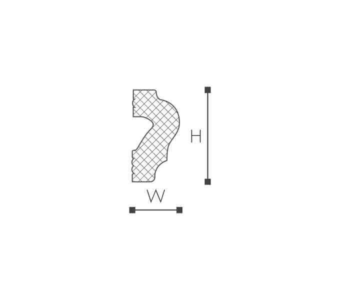 WL2 Молдинг стеновой-рис.2