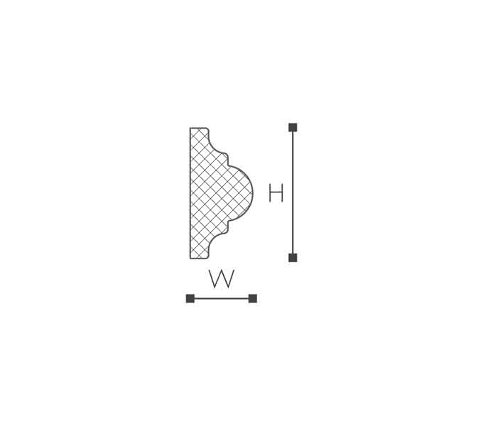 WO1 Молдинг стеновой-рис.2