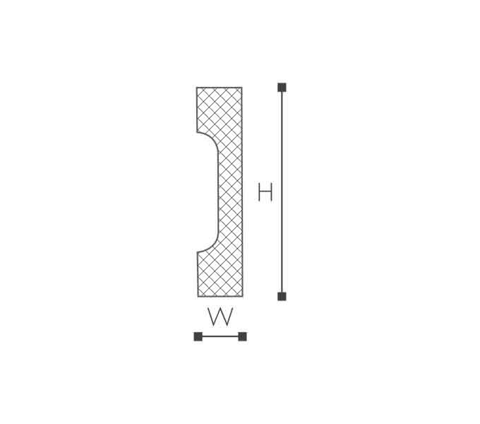 WD2 Essenza Молдинг стеновой-рис.2
