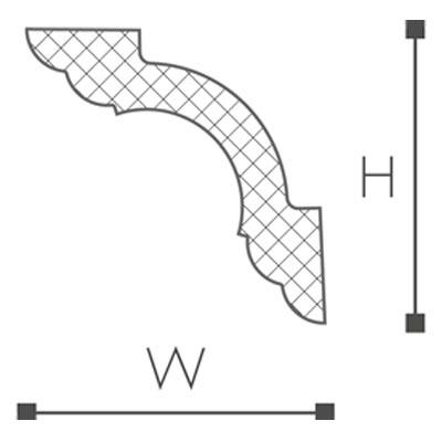 WT5 Essenza Карниз потолочный-рис.2