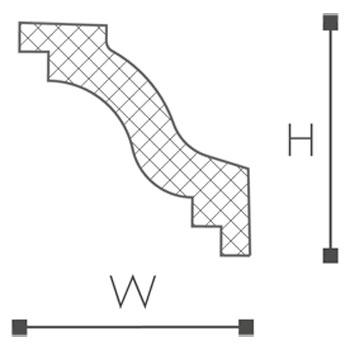 WT6 Essenza Карниз потолочный-рис.2