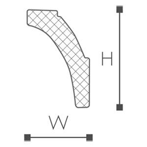 WT8 Essenza Карниз потолочный-рис.2